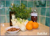 Salade d'été Sicilienne.