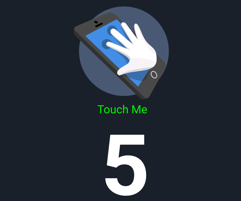 5 points of touch present!