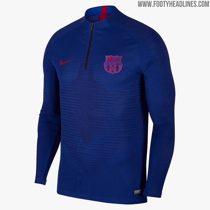 newest e9421 9a8e7 Details: Nike FC Barcelona 19-20 Training Kits Released ...