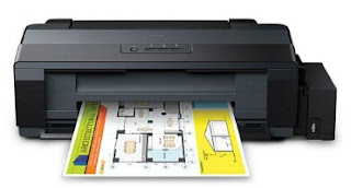 printer is the start inwards the footing to implement the infusion organisation  EPSON L1300 Printer Driver Download