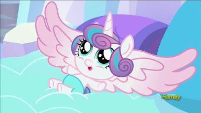 Flurry Heart spreads her wings