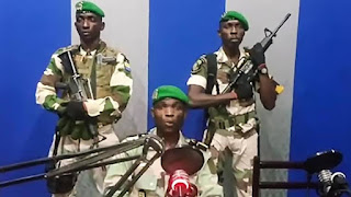 National radio station seized by Gabon army over coup attempt