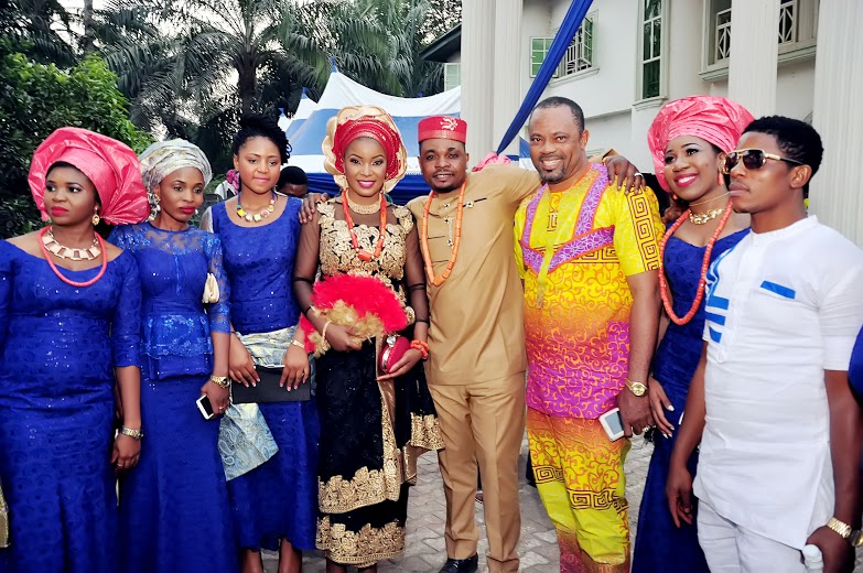 POPULAR NOLLYWOOD PRODUCER AND ACTOR PRINCE IYKE OLISA AND WIFE WELCOME DAUGHTER – (PHOTOS)