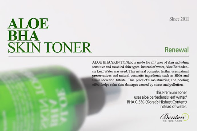 Review Benton Aloe BHA Skin Tonner - Làm Sạch, Cấp Ẩm Tốt, Giá Rẻ, benton, benton aloe bha toner, toner benton, benton aloe bha skin toner, bha