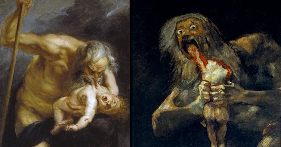 """Luis Médici: """"Saturno"""" por Peter Paul Rubens y """"Saturno devorando ..."""