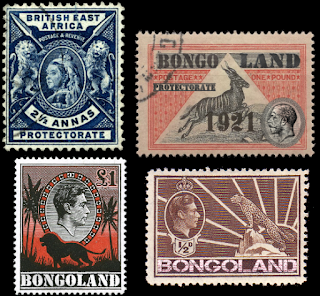 british bongoland stamps