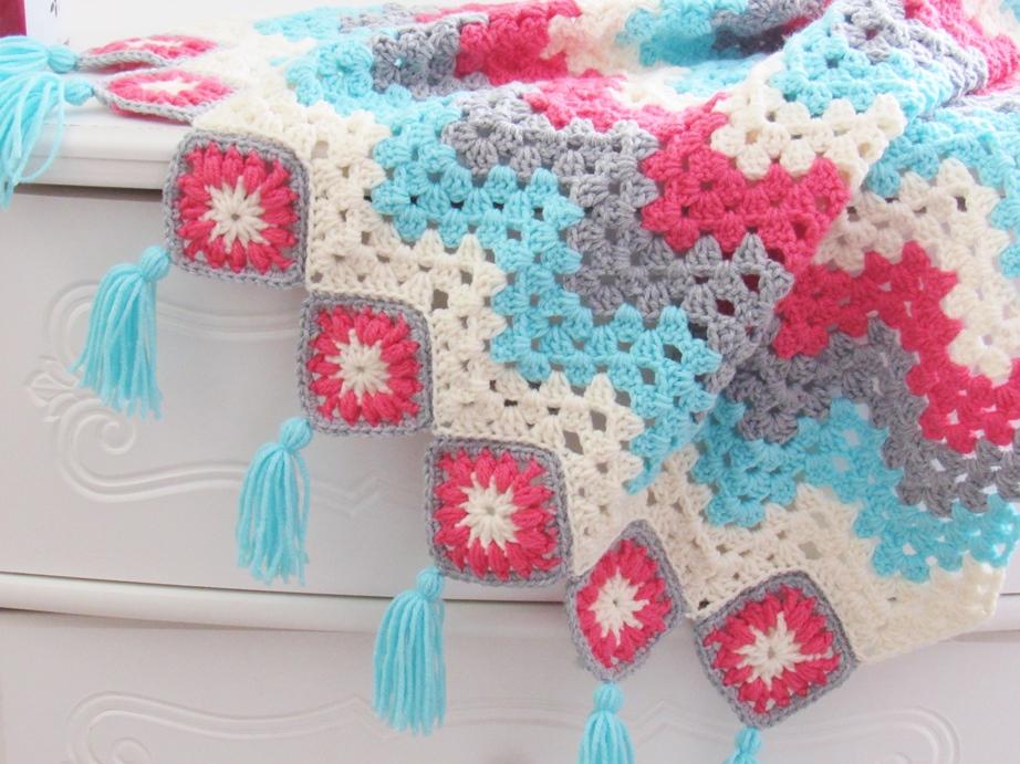 Easy Crochet Ripple Afghan A Modern Take Crochet Dreamz