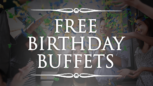 Free Birthday Restaurants ~ Restaurants offering free birthday buffets this ednything