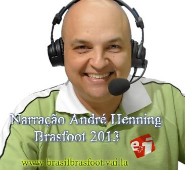Narração André Henning para Brasfoot 2013