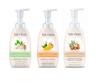 Live Clean Foaming Body Washes~ #Review #Giveaway