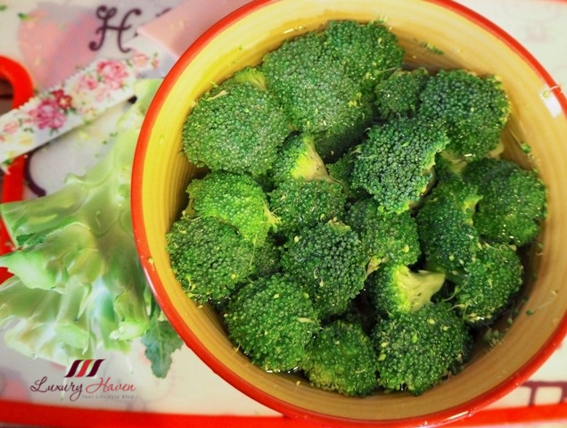 healthy living cooking broccoli