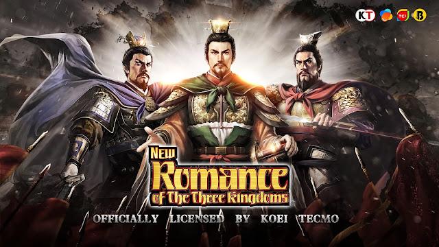 New Romance of the Three Kingdoms เกมสามก๊กมือถือ เกมล่าสุดของ Koei Tecmo