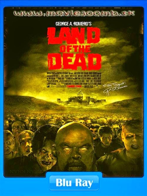 [18+] Land of the Dead (2005) [Hindi Dubbed] [UnRated] BluRay 480p 400MB Poster