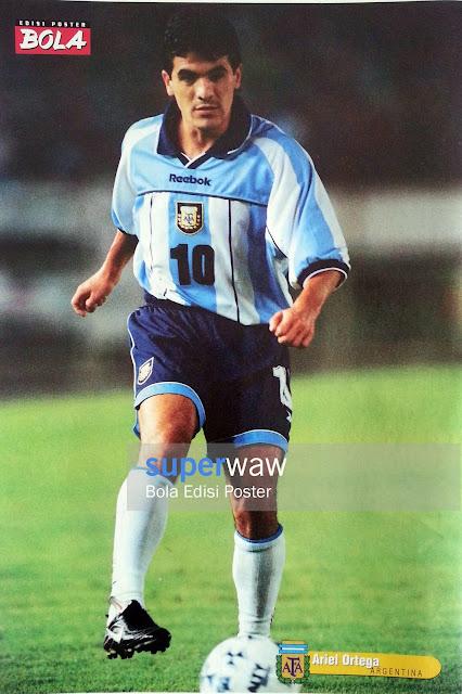 Poster Ariel Ortega (Argentina)
