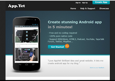 App Yet assist you to convert your rss feeds into an android app
