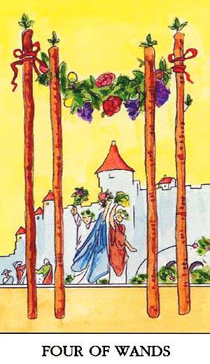 Save Send Delete: Lent / Tarot / Celebration: The Four Of
