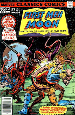 Marvel Classics Comics #31, First Men in the Moon