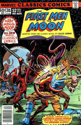 Marvel Classics Comics #31, First Men in the Moon