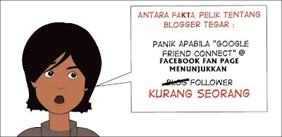 Blogger Tegar - Panik Bila Followers Berkurangan!