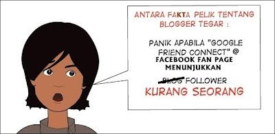 Blogger Tegar - Panik Bila Followers Berkurangan!