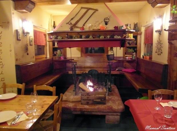 Loc. Cornigian di Forno di Zoldo, ristorante Inte Cornigian