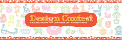 Capadia Designs: Folk Art Festival Contest and more