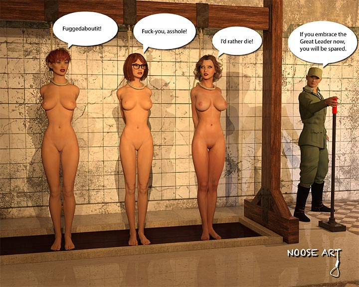 Erotic gallows girls