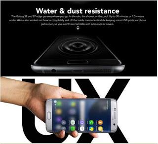 Samsung Galaxy S7 edge kedap air