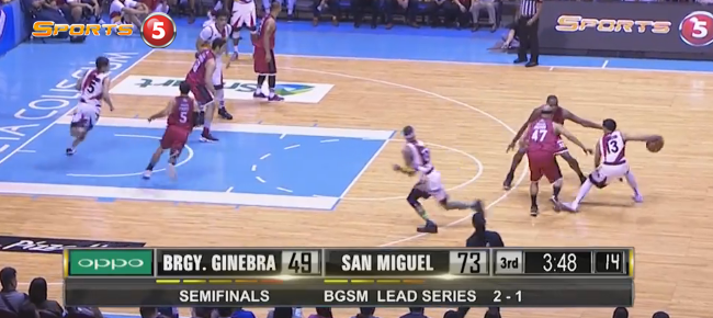 HIGHLIGHTS: San Miguel vs. Ginebra (VIDEO) October 2 - Semis Game 4