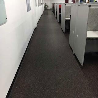 Greatmats rubber flooring in office