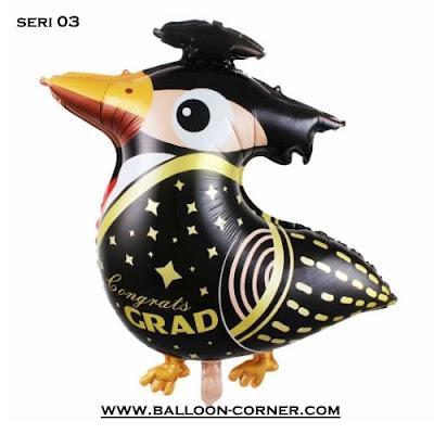 Balon Foil Seri CONGRATS GRAD