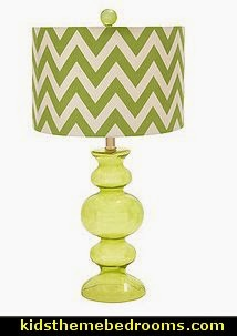 Chevron Zig-zag Table Lamp