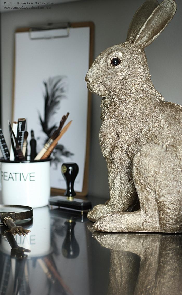 kanin, kaniner, guld, konsttryck, tavla, tavlor, svartvita, tavlor, fjäder, fjädrar, poster, posters, print, prints, svart och vitt, svartvit, svartvita, skrivbord, detaljer, annelies design, webbutik, webbutiker, webshop, inredning, inredningsblogg, blogg, bloggar, nätbutik, nätbutiker, nettbutikk, plakat, plakater,