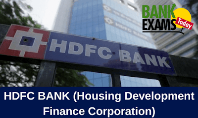 HDFC BANK (Housing Development Finance Corporation) | Bank Exams Today