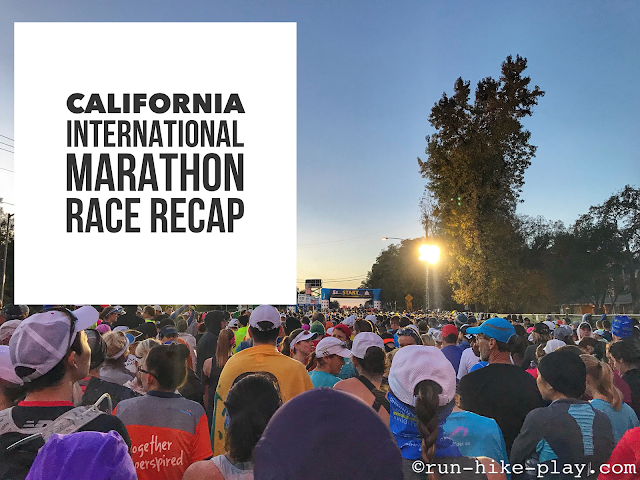California International Marathon (CIM) Race Recap 12/3/17