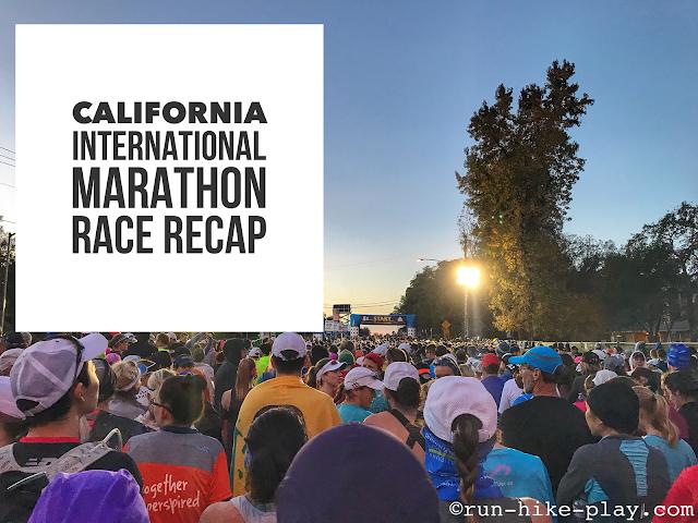 California International Marathon (CIM) Race Recap 12/3/17