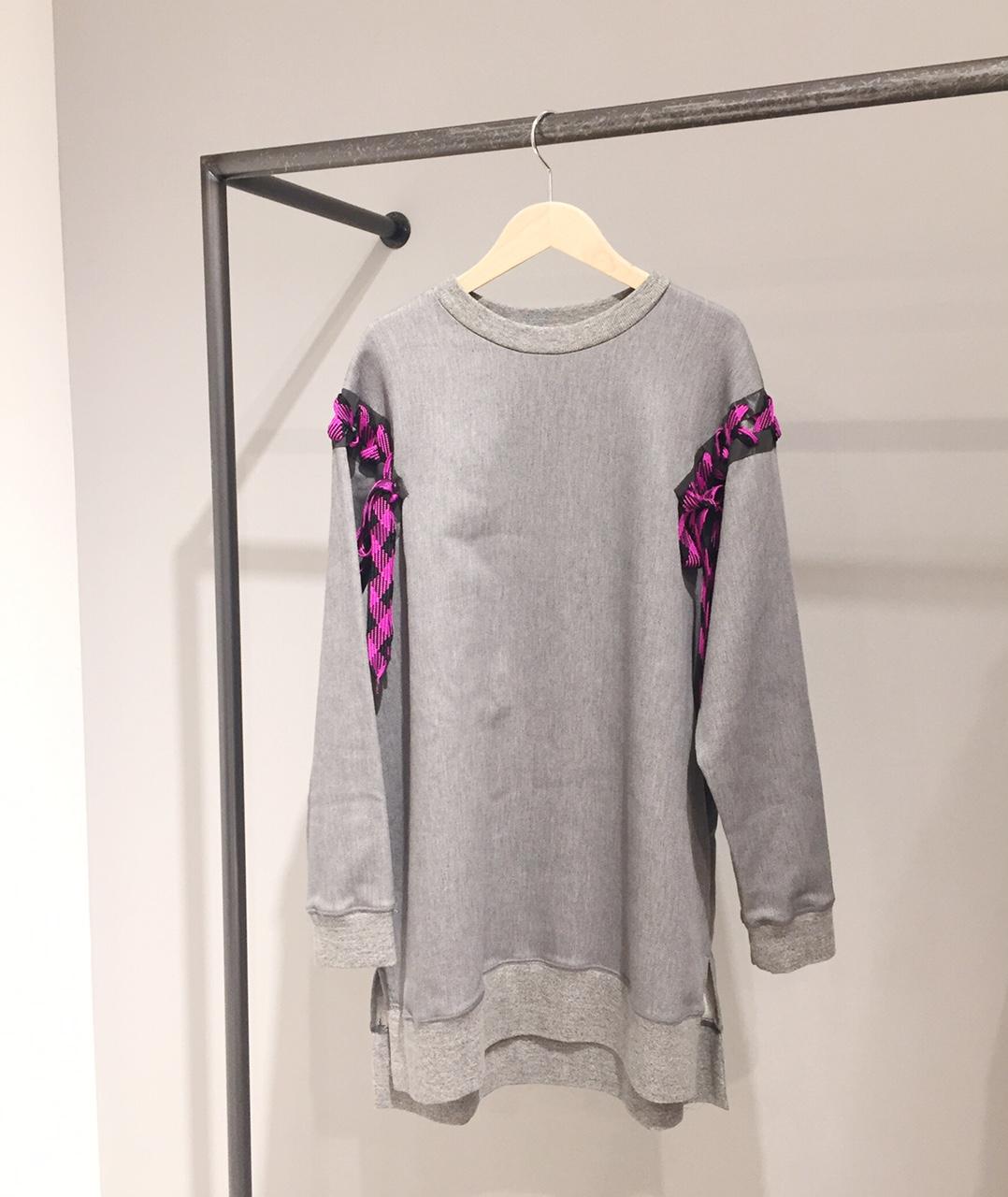 mintdesigns【ミントデザインズ】SLEEVE STRING SWEAT★香川・綾川店