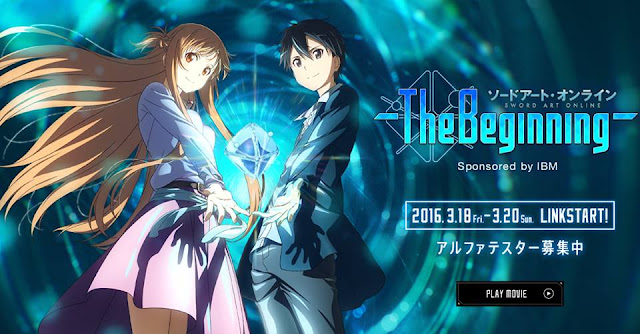 Sword Art Online Gets Virtual Reality Game!!