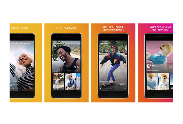 Instagram releases IGTV app for Android and iOS that lets you watch long-form, vertical video from your favorite Instagram creators