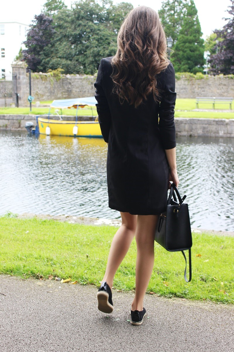 curles, vawy hair, loveit, ootd, blazer dress