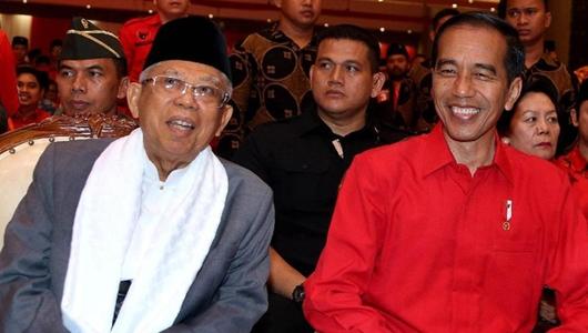 Mengintip Juru 'Poles' Jokowi-Ma'ruf Jelang Debat Capres