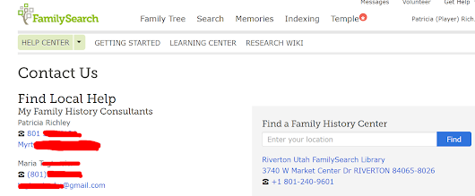 FamilySearch personal info workaround is a bandaid not a cure