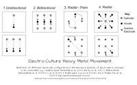 Electro Culture Heavy Metal Movement Chart Diagram