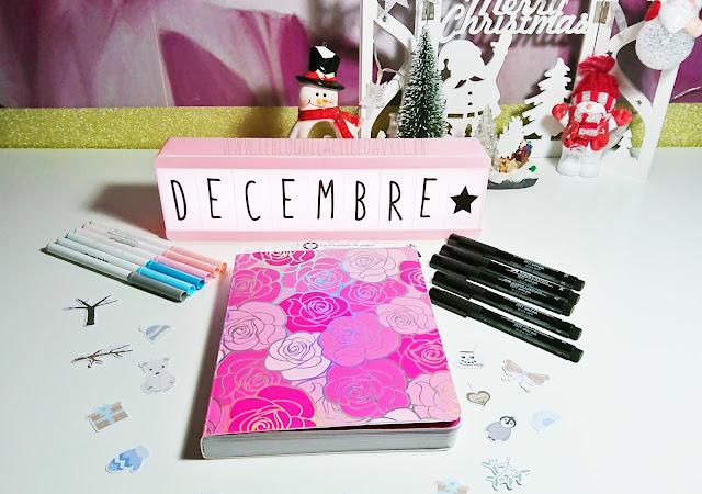 BULLET JOURNAL : Plan with me, Décembre 2019