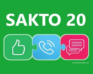 Smart SAKTO20 – 2 Days Unlitext to All Networks, Unli Facebook + more