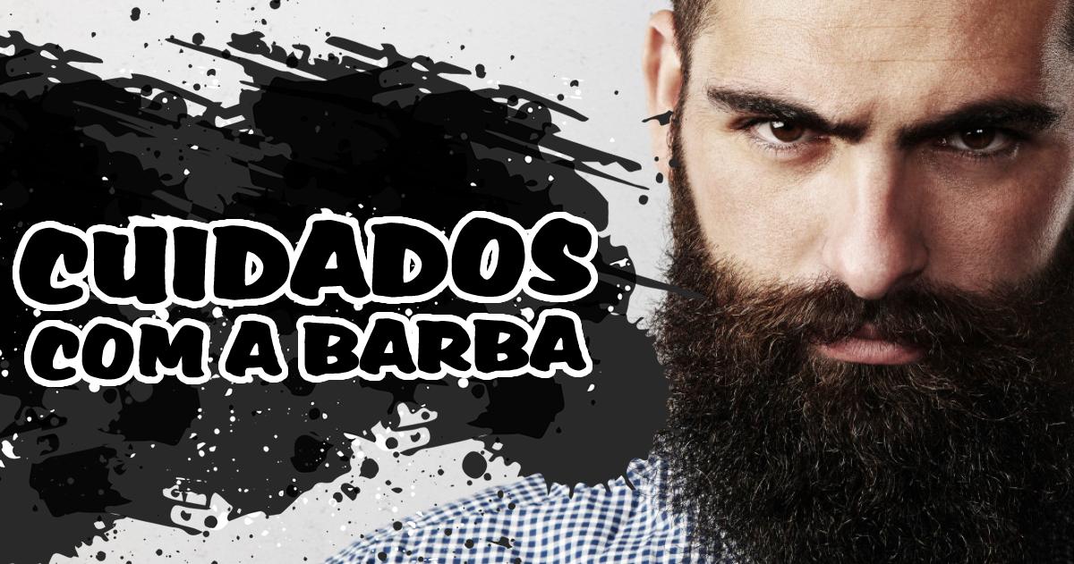 como cuidar da barba masculina
