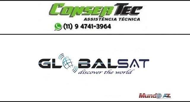 Nova atualização Globalsat sks 58w