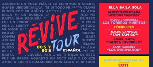 Boletos para Concierto Revive 80s y 90s Tour Mexico 2019