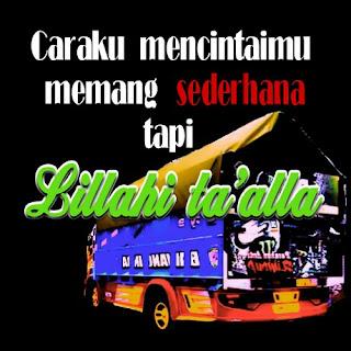 dp bbm cinta supir truk