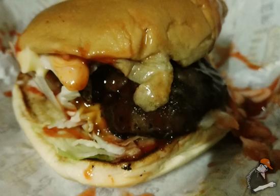 Burger Bakar Meletup di Parit Buntar